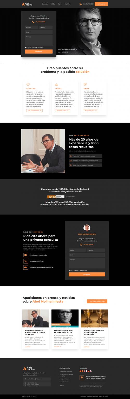 Abel Molina Lawyer - Homepage