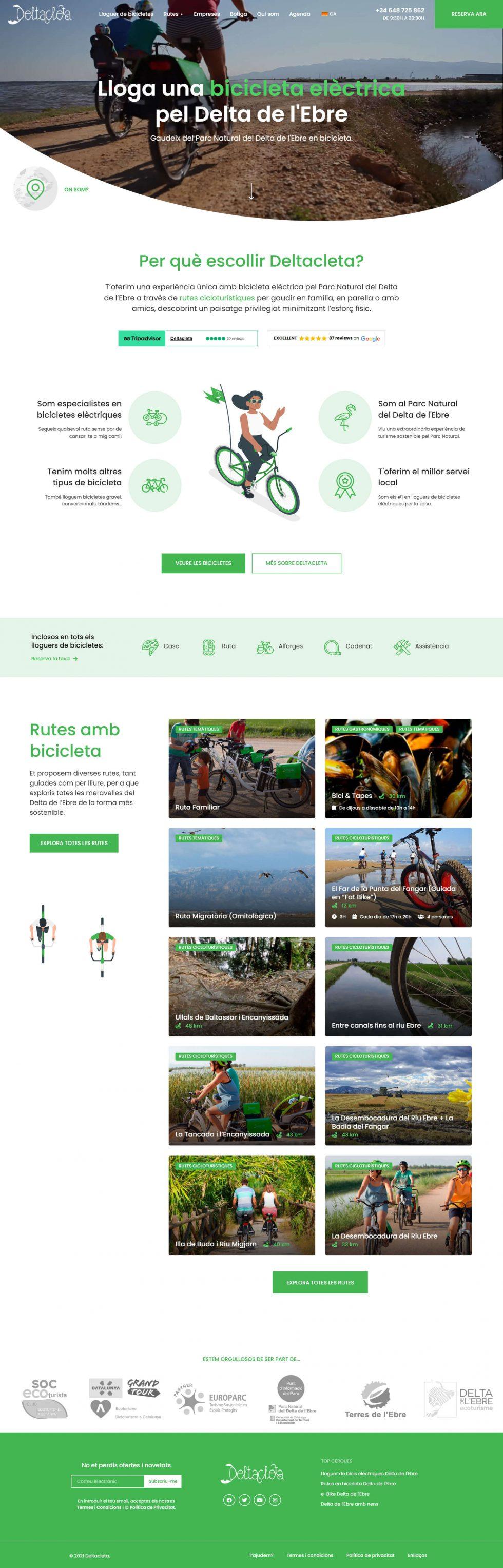 Deltacleta - homepage